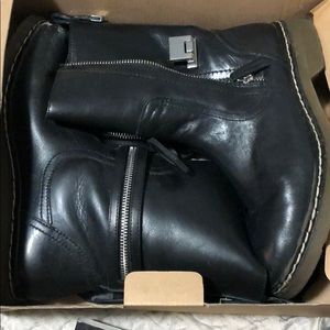 Zara motorcycle Boots